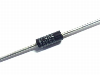 P6KE6V8A unidirectional diode  6.8V 600W