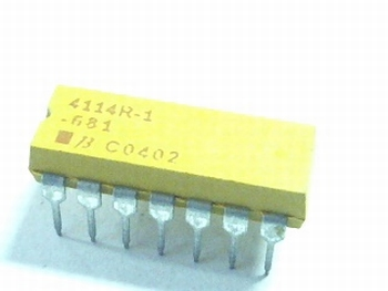 Resistor array 8x 680 ohms