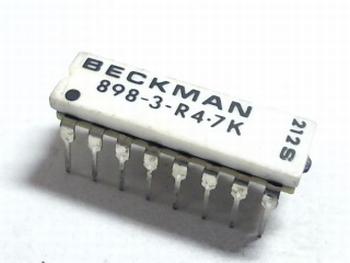 Resistor array 8x 4K7