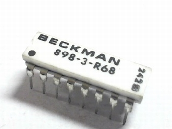 Resistor array 8x 68 ohm
