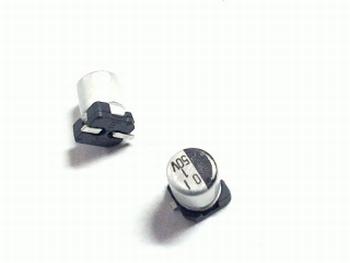 SMD electrolytic capacitor 1uf 50V 105 aluminium