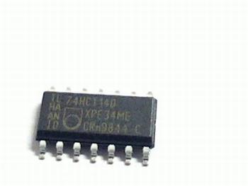 74HCT14D HEX INVERTER SCHMITT TRIGGER SMD