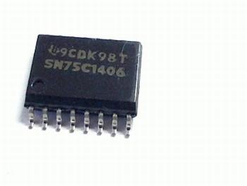 SN75C1406D Triple Transmitter/Receiver RS-232