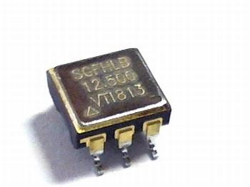 Quartz crystal oscillator SGFHLB 12.5 mhz