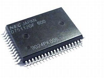 UPD75112GF 4-Bit Microcomputer