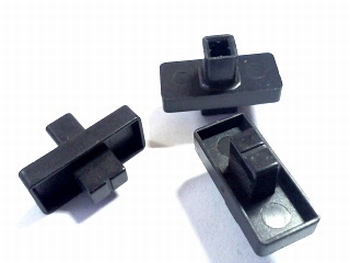 Knob black slide