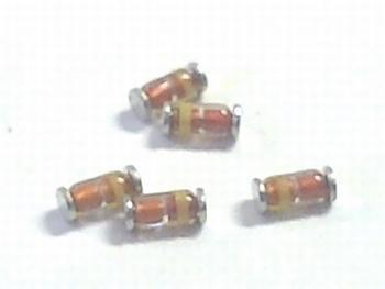 BZV55-C3V3 - 3,3 volt 0.5 Watt - 10 stuks SMD