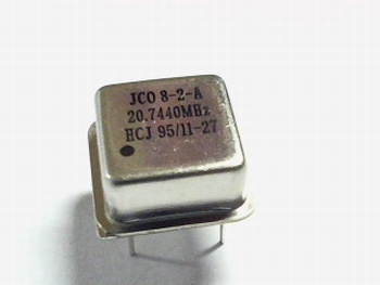 Quartz kristal oscillator 20,744 mhz