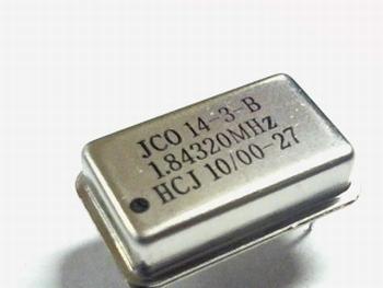Quartz crystal oscillator 1,84320 mhz