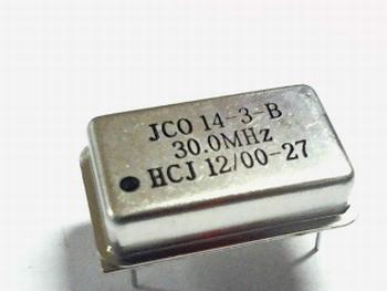 Quartz kristal oscillator 30 mhz