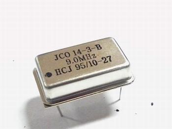 Quartz kristal oscillator 9 mhz