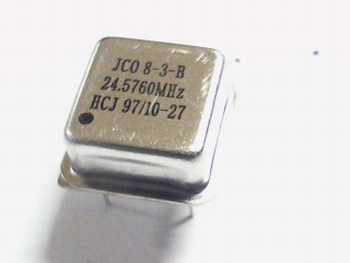 Quartz kristal oscillator 24,5760 mhz