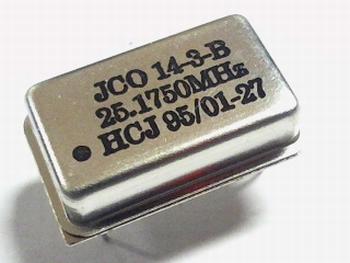 Quartz crystal oscillator 25,1750 mhz