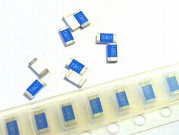 SMD resistor 1206 - 2K49 Ohms