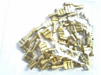 Flat connector assortment 40 pieces