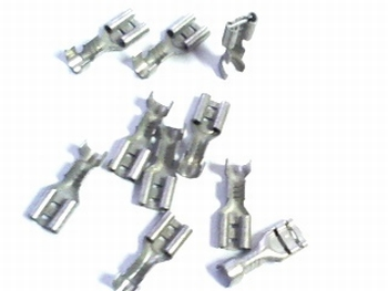 Flat connector  A 6,3 x 2,5 - 10 pieces