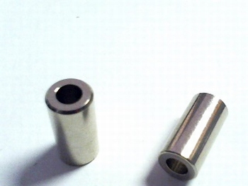 Metal distance holder 12mm round diameter 6mm