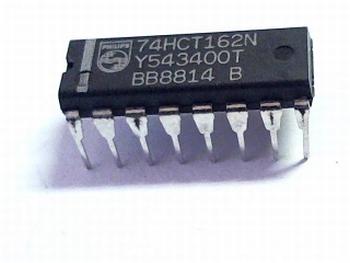 74HCT162N SYN POSITIVE EDGE