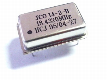 Quartz kristal oscillator 18,432 mhz