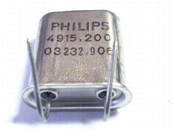 Quartz crystal 4915,200 Philips
