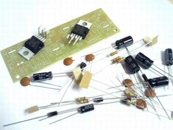 Building kit stereo amplifier 2x 15 Watt
