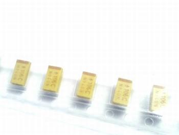 SMD Tantal capacitor 10uf 16V TAJC10M16RBJ