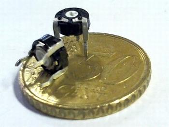 Instelpotentiometer PT6 topadjust 500K Ohm
