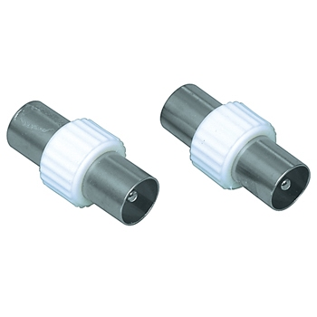 Coax coupler male to male