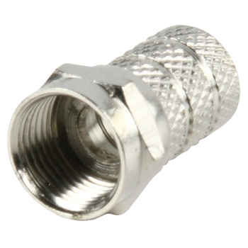 F connector, screw version 7,5mm