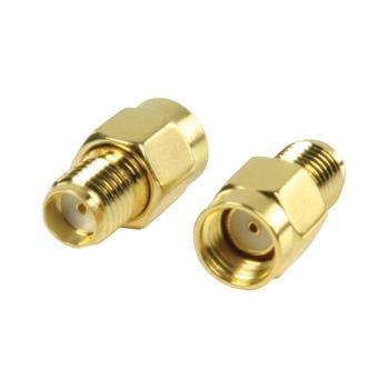 Adapter plug SMA female to SMA female