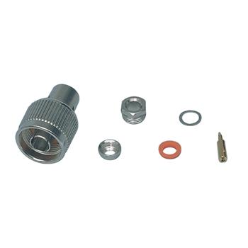 N-male clamp type RG58