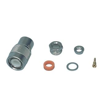 TNC clampplug RG58