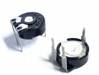 Instelpotentiometer PT10 topadjust 250K Ohm