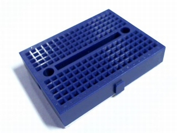 Solderless blue breadboard mini