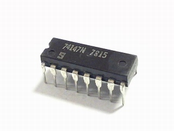 74147 - 10 to 4 Line Priority Encoder