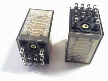 Relay Schrack ZT570012 12VDC 4 x double throw 4PDT