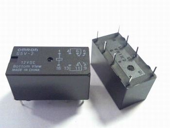 Relay Omron G5V-2 - 12 Volts DC- DPDT