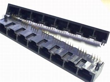 RJ45 8x bus for network cables
