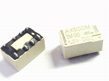 Relais micro Axicom DPDT 1.5VDC - 2A, SMD