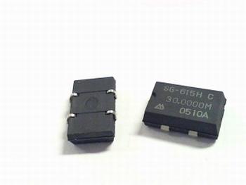 Quartz crystal oscillator SMD 30 mhz SG-615H