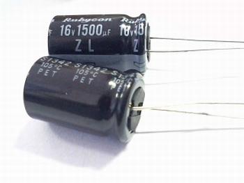 Elko 1500 uf 16 volts radial