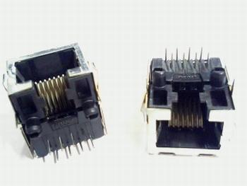 RJ45 socket shielded
