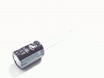 10 x electrolytic capacitors 330 uf - 16 volts
