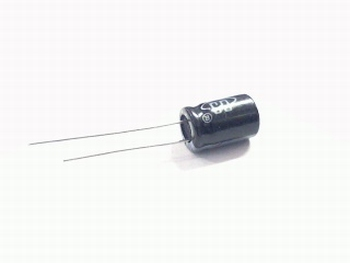 10 x electrolytic capacitors 100 uf - 63 volts