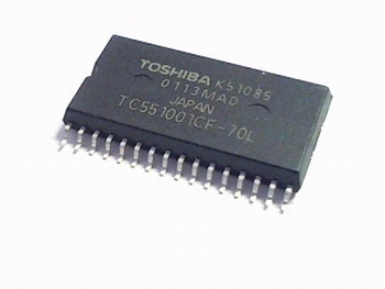 TC551001CF-70L SRAM 128Kx8 70ns