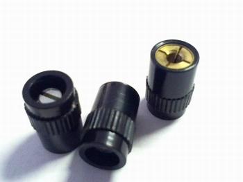 Spantangknop voor 2-2.5 mm as zonder kapje