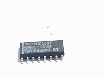 74HC139T Decoder/Demultiplexer Dual 2-to-4