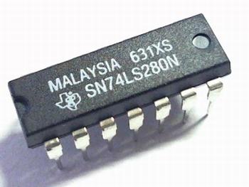 74LS280  9-bit Odd/Even Parity Generator
