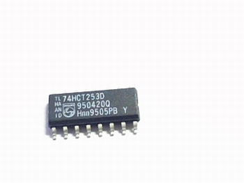 74HCT253T Dual 4-input multiplexer; 3-state SMD