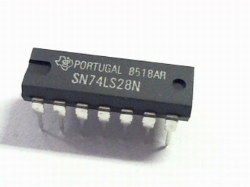 74LS28 QUAD 2-INPUT NOR BUFFER